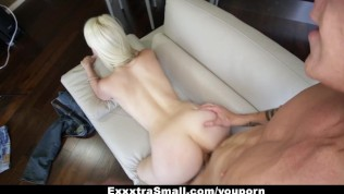 Darcie Belle Fucked on Her Couch [Exxxtra Small]