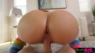 Big Ass Step Sis POV Fuck